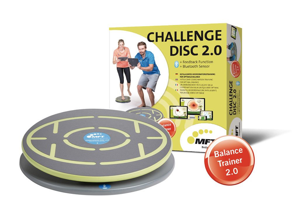 MFT Challenge Disc 2.0 bluetooth balance board and training app