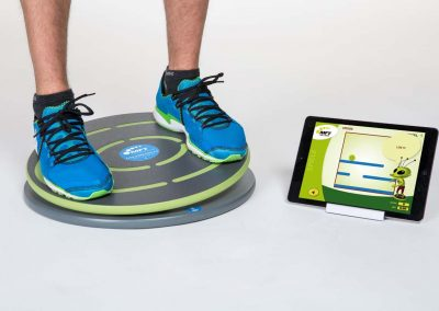 Digital balance board with training app my MFT