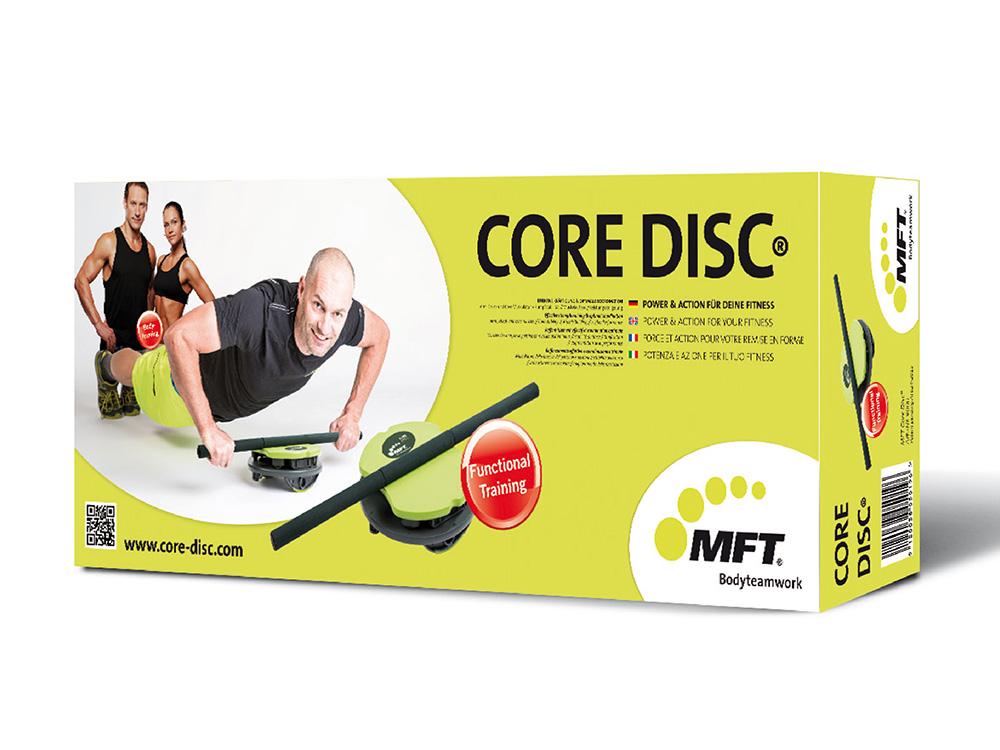 MFT Core Disc Verpackung Lieferumfang