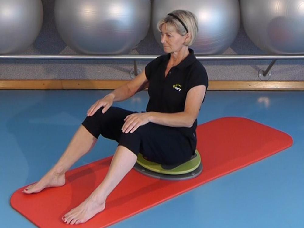 Rücken-Training mit der MFT Fit Disc