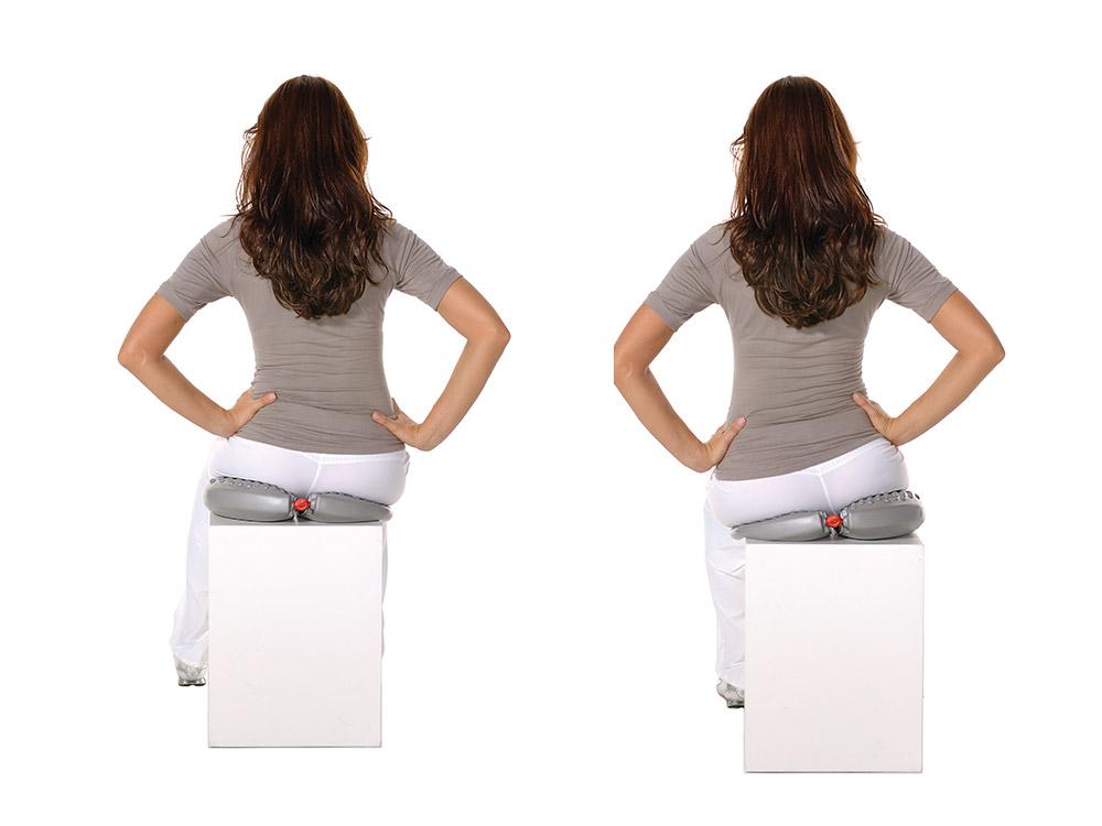 MFT Magic Sit Aktiv-Sitzkissen für Bauch, Beine, Po und Rücken