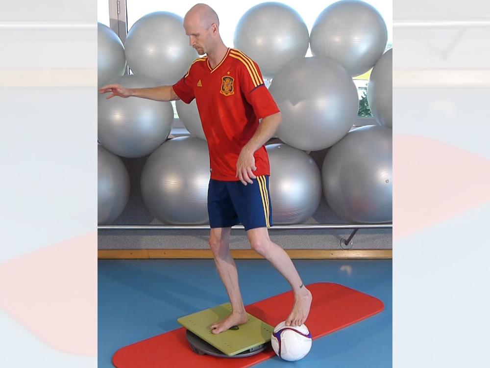 Fußball Koordinations-Training mit der MFT Sport Disc