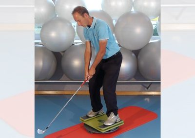 Golf-Training mit der MFT Sport Disc