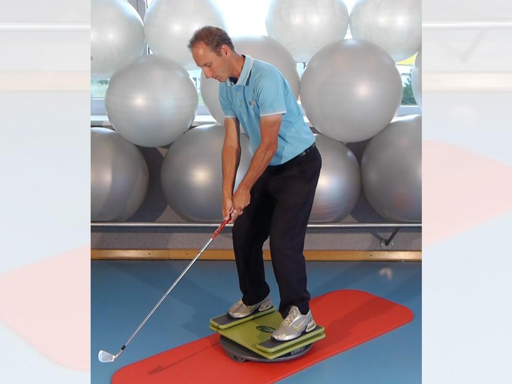 Golf-Training mit der MFT Sport Disc