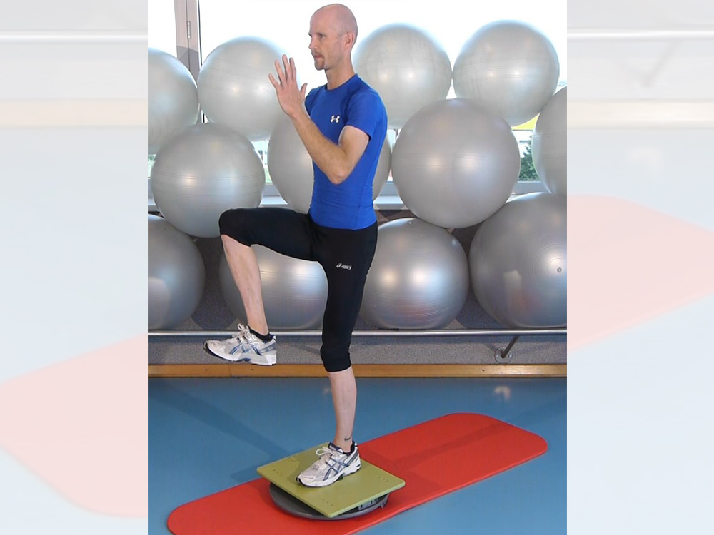 Laufsport-Training mit der MFT Sport Disc