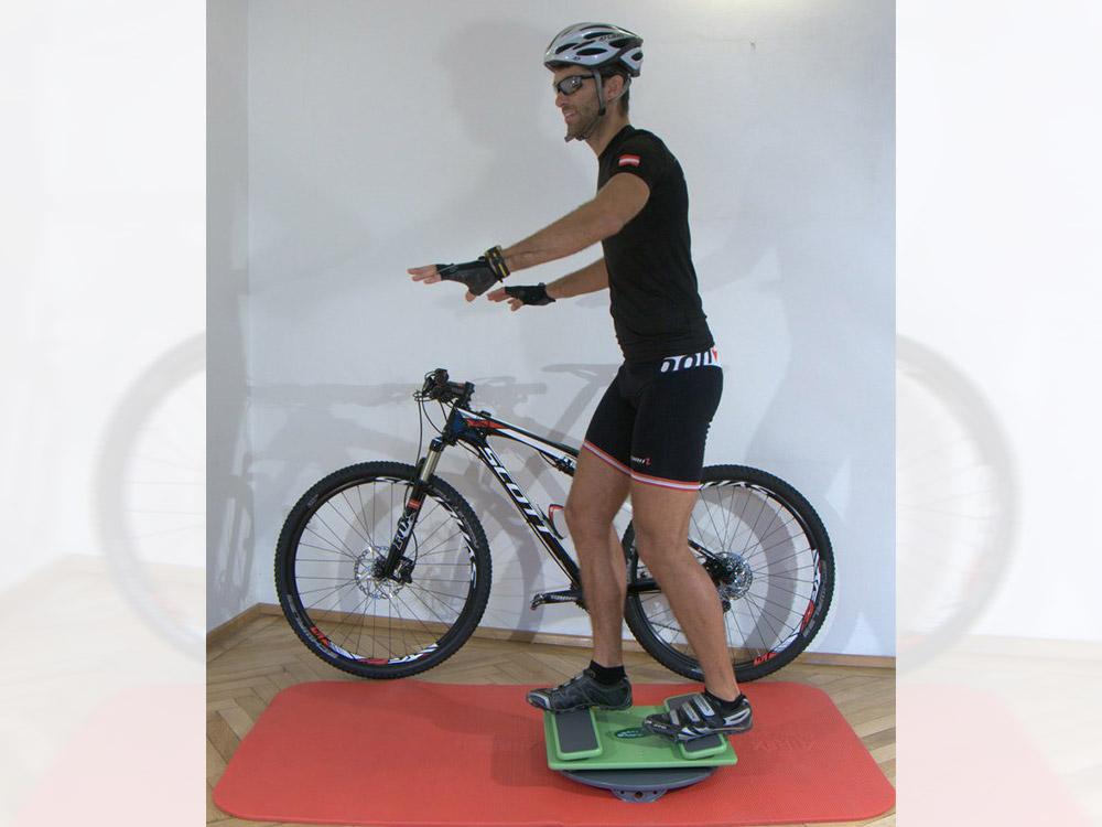 Radsport Training mit der MFT Sport Disc