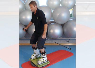 Ski-Training auf der MFT Sport Disc