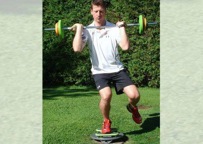 One-legged training