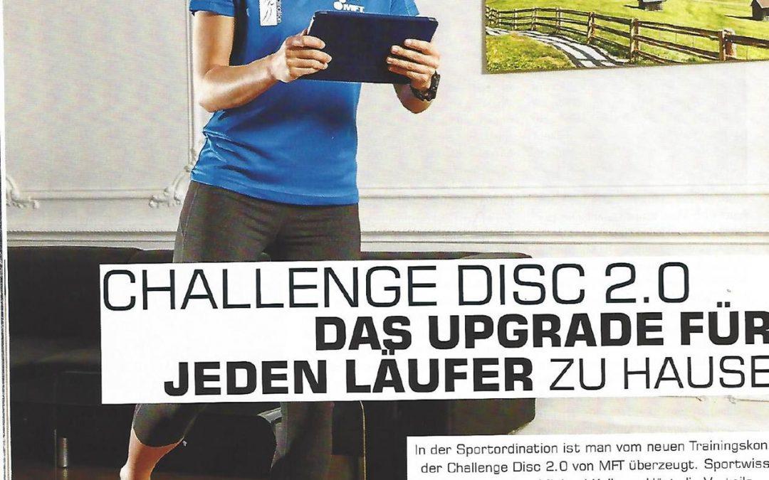 Challenge Disc 2.0 – Das Upgrade für jeden Läufer zu Hause