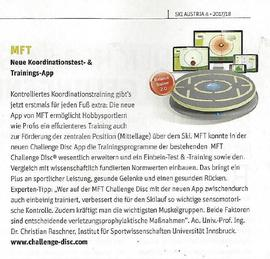MFT Neue Koordinationstest- & Trainings-App