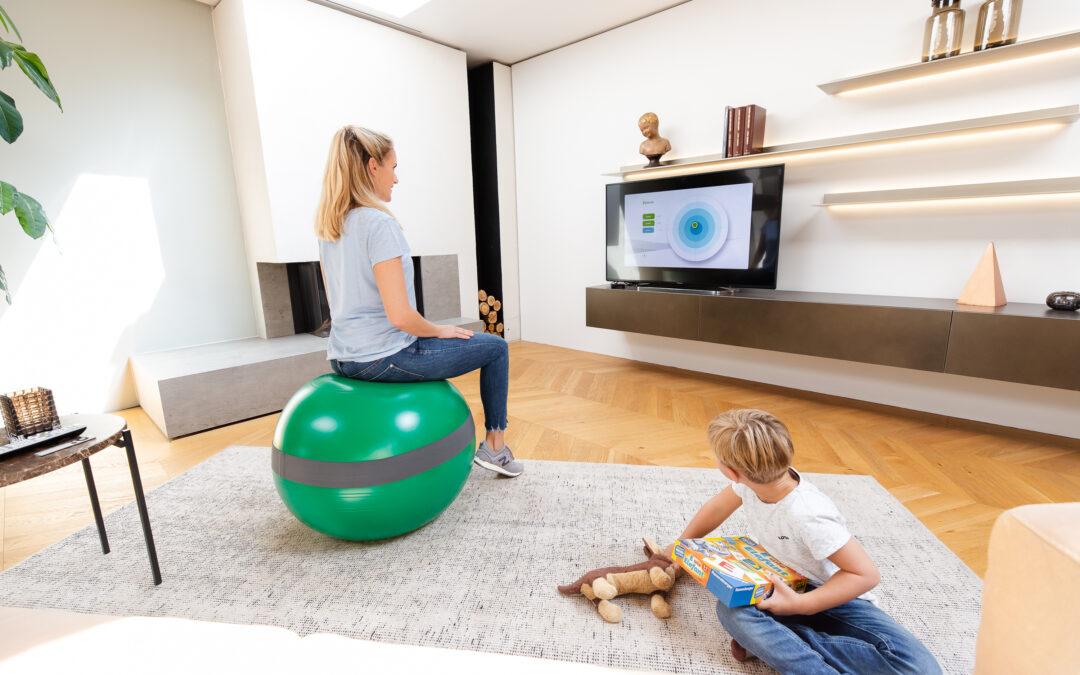 BRAND NEW: Digitales Rückentraining im Sitzen