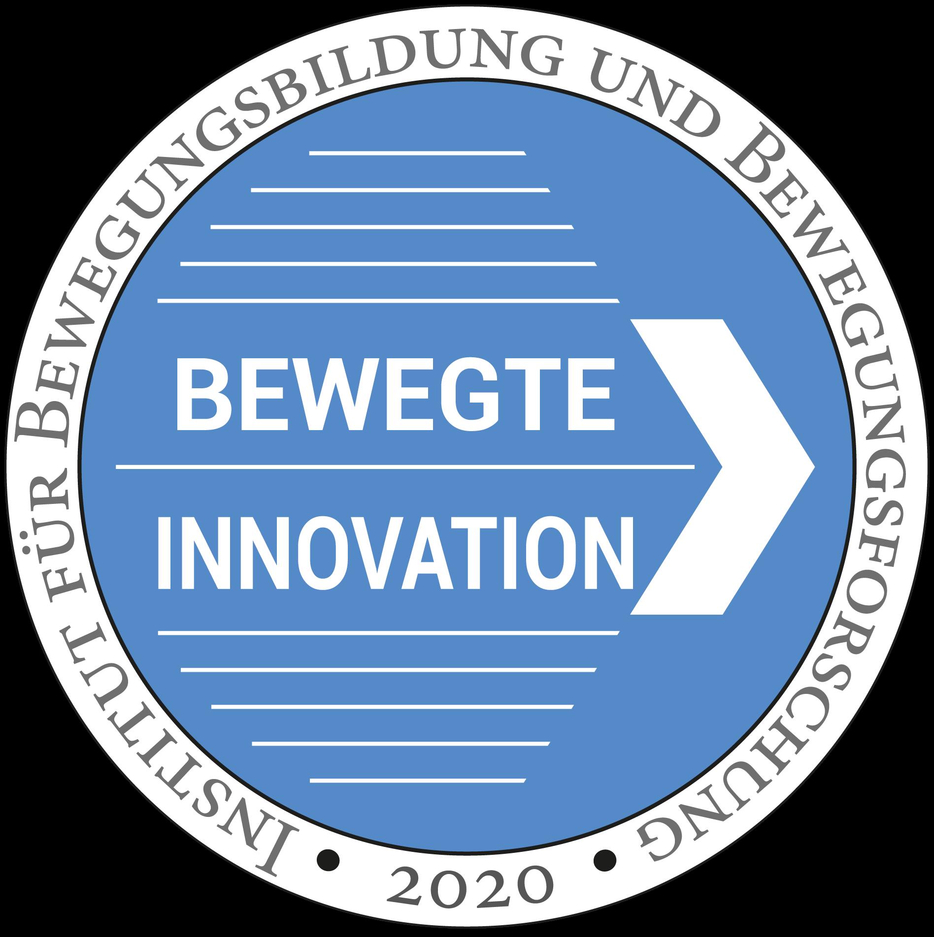 Gütesiegel Bewegte Innovation 2016 für MFT Bodyteamwork