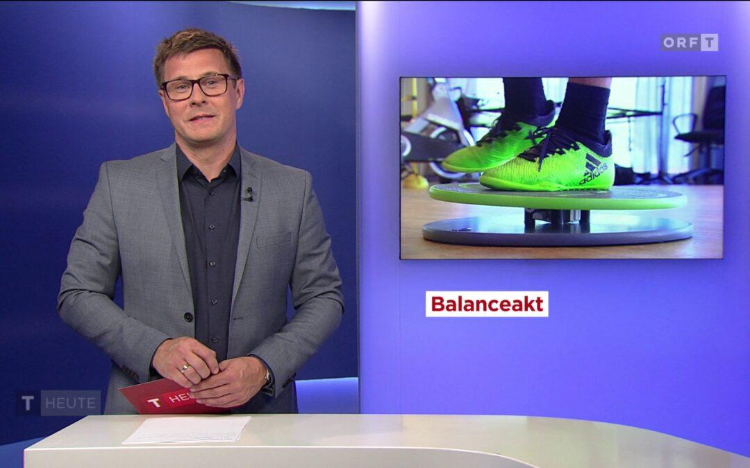 """""""Balanceakt"""" – ein TV-Beitrag über MFT Balance Boards im ORF"""