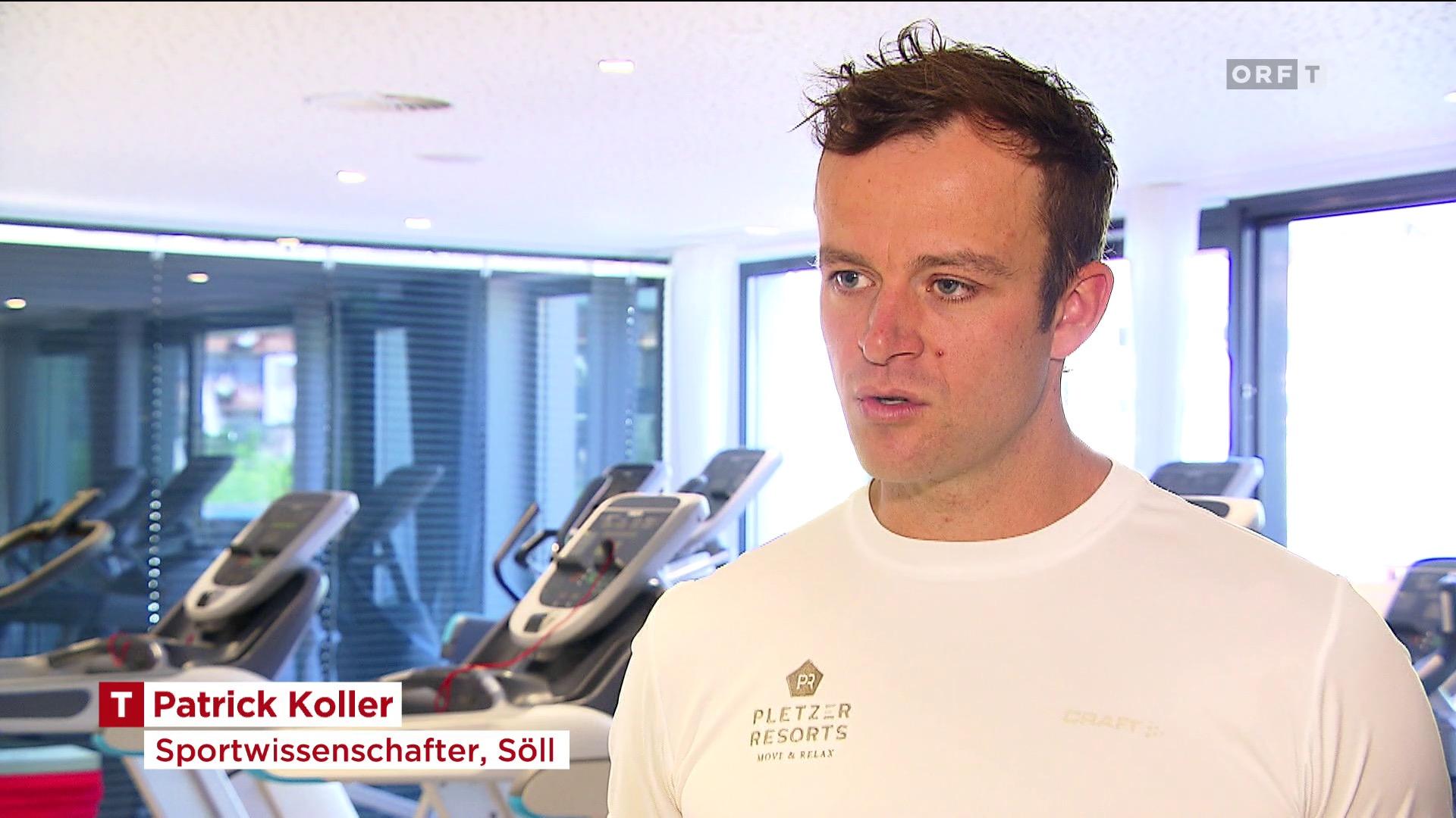 Sportwissenschafter Patrick Koller spricht im Interview mit ORF Tirol über die Vorteile des Trainings mit MFT Balanceprodukten für den Körper