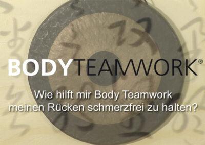 Frage 3: Wie hilft mir Body Teamwork meinen Rücken schmerzfrei zu halten?