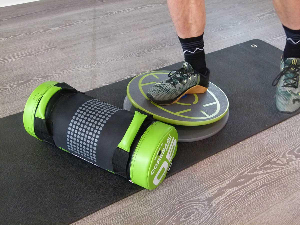 MFT Übungen 514 + 515 Stabilisieren mit Kniebeuge und Core-Bag