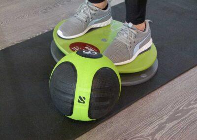 Ganzkörperstabilität – Fit Disc Übungen mit dem Ball