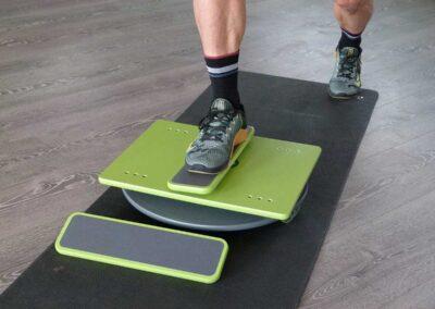 Sport Disc Übungen im Einbeinstand – Basis Sport – Beinachsenstabilität