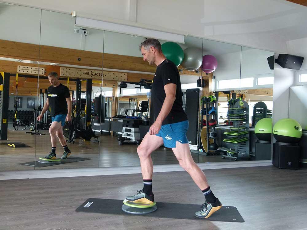 MFT Bodyteamwork Trainingstipps einbeinig