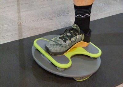 Trim Disc Übungen im Einbeinstand – Basis Sport – Beinachsenstabilität