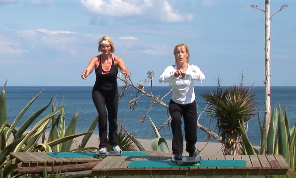 Muscle Coordination Trainingsprogramm auf der MFT Trim Disc