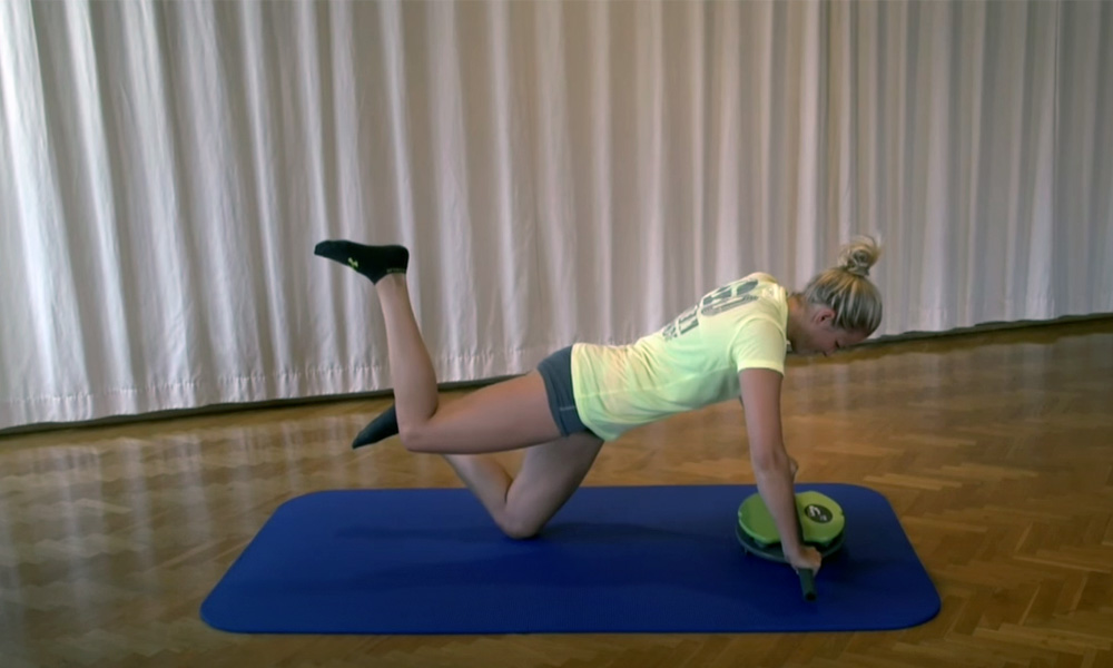 Trainingstipps und Übungen zum Personaltraining mit der MFT Core Disc